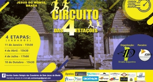 Race against the clock of the good escadórios Jesus do Monte